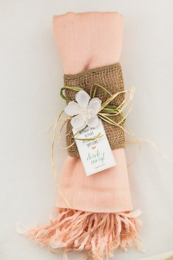 Of course you should feel great about the wedding favors you give to your guests! My best advice? Give away a gift that has special meaning and will be a solid reminder of the day spent celebrating you and your brand new marriage. Below are 20 great ideas to get your creativity flowing. Have fun pinning all your favorites!