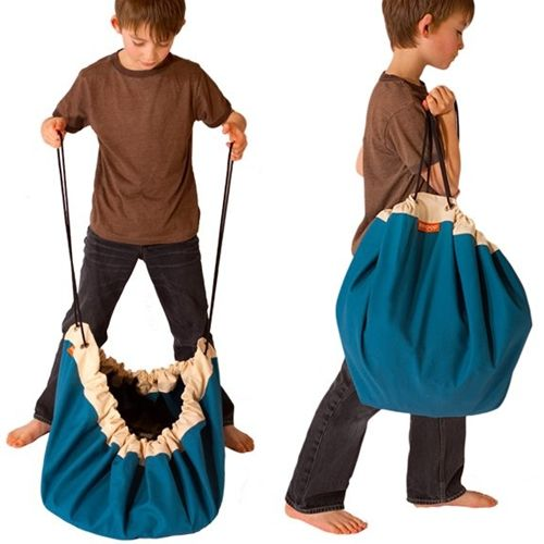 bolsa recoge juguetes 4 Una bolsa para jugar y recoger ¡Menudo invento!