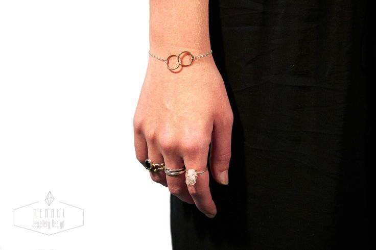 Brass loop bracelet www.merakijewellerydesign.com