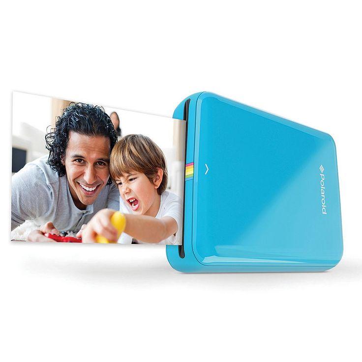 Polaroid ZIP Mobile Printer, Blue