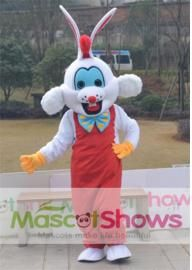 Lapin Roger Mascotte Adulte Costume de mascottes d...