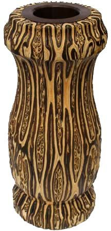'Colony' Wooden Vase 280mm - Fernwood | Shop New Zealand