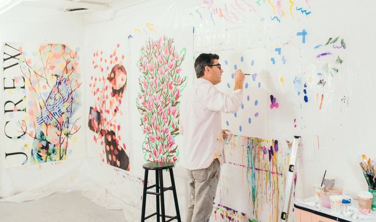 We don't advocate breaking the law—but that's kind of how our latest collaboration with street artist Michael De Feo (aka @theflowerguy) came about.