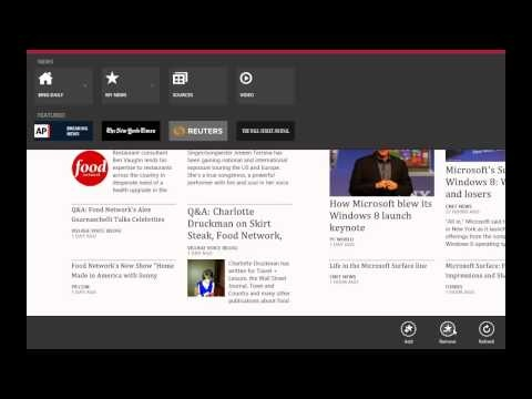 Windows 8 App Review - News (Native)