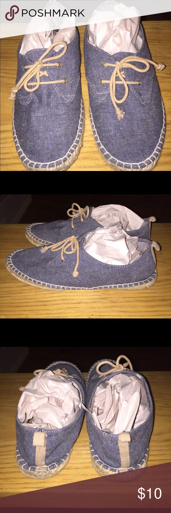 GAP espadrille shoes (Gently Used) lightweight espadrille shoes - perfect for summer time/ walks on the beach. GAP Shoes Espadrilles