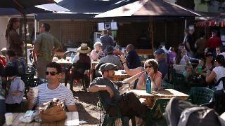 Willunga Farmers market photo by Patrick Gorbunovs • the Advertiser 2012 • Adelaide's markets