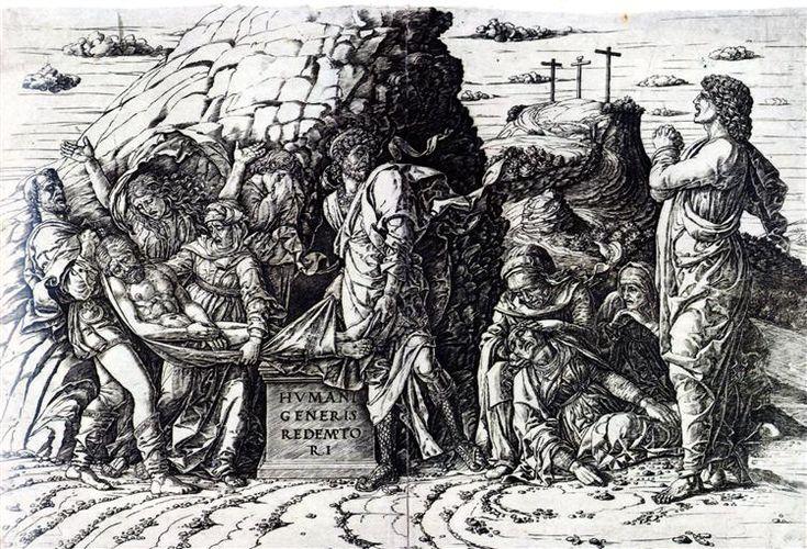 El Entierro de 1475 - Andrea Mantegna