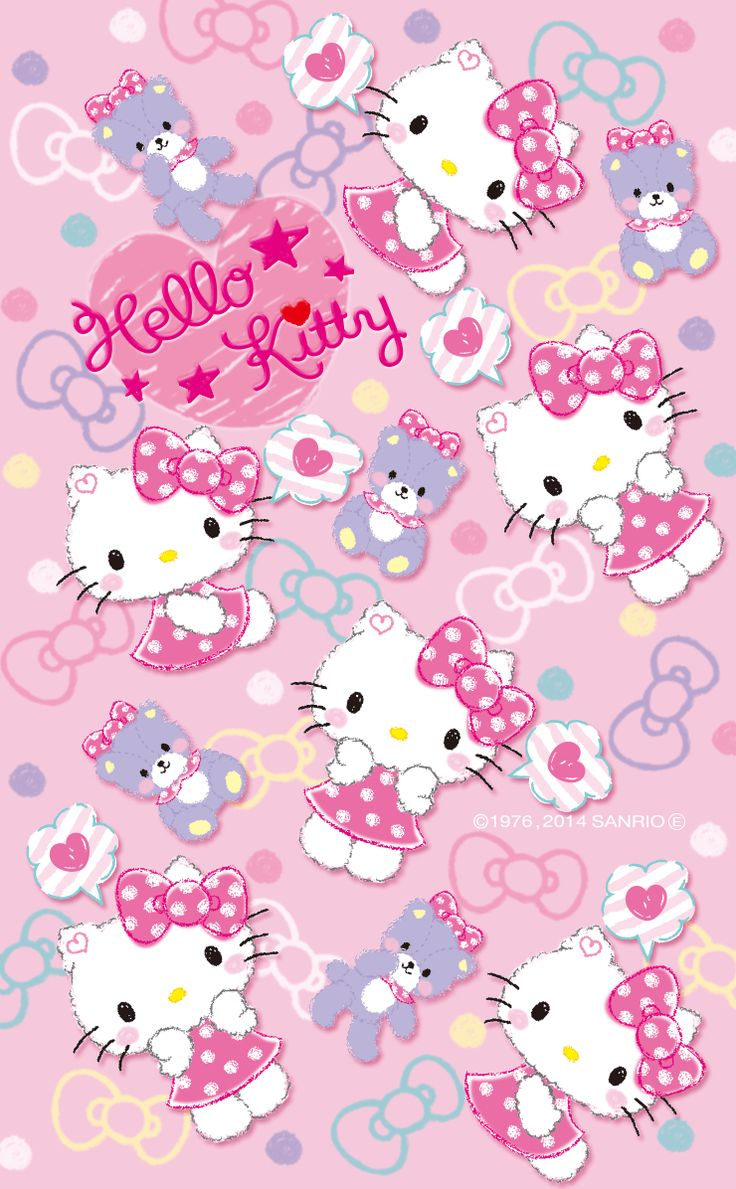 Gambar Wallpaper Cantik Hello Kitty