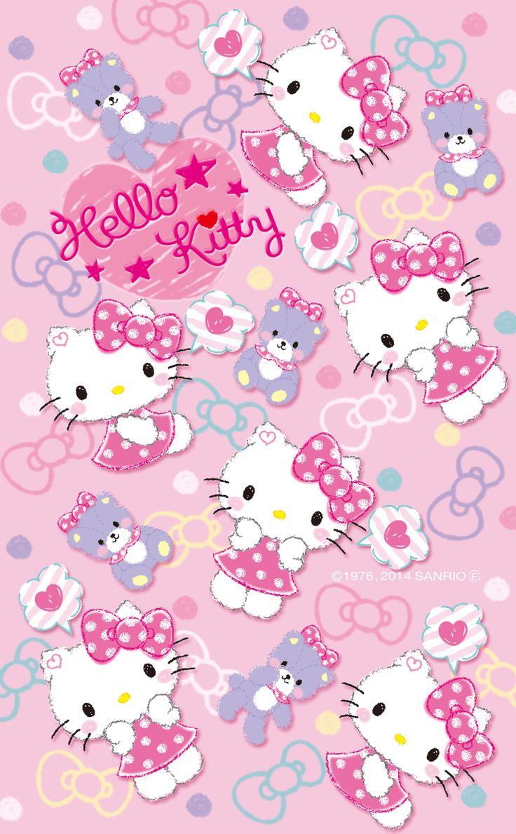 Hello Kitty Wallpaper By Artist Unknown Kitty Pinterest