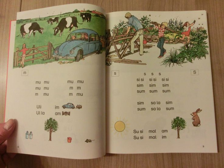 Berliner Fibel Berlin 1975 1.Klasse lesen und schreiben Bär Teddy ABC Schütze !! | eBay