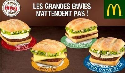 French Fast food webquest