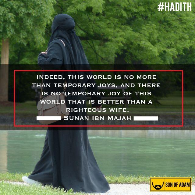 Righteous Wife #islam #quran #hadith #allah #muslim #muslimah #teachings #muhammad #sin #repent #forgive #palestine #gaza #sinner #deed #patience #salah #islamicquote #islamic #wallpapers