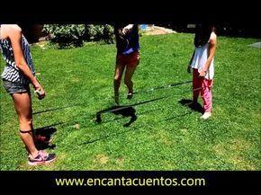 El elástico, un juego con muchas posibilidades de canciones, que se puede jugar afuera o adentro, de a varios y también de a uno. EnCantaCuentos | Blog