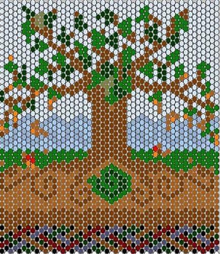 Free seed beading patterns - WetCanvas