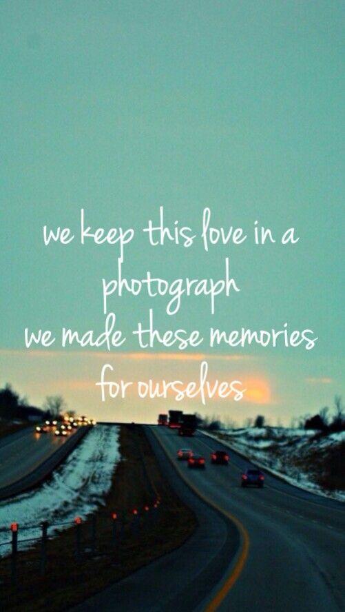 Photograph ~ Ed Sheeran