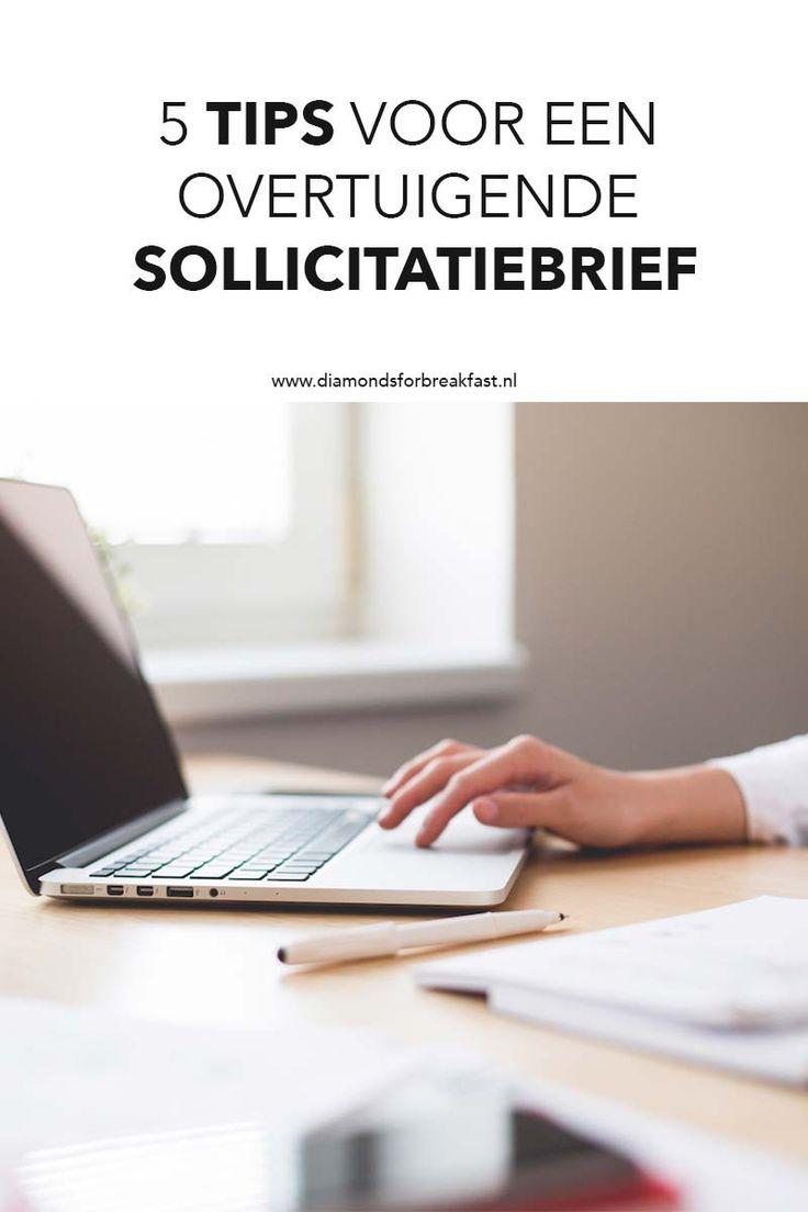 Wanneer je op een baan solliciteert, heb je een overtuigende sollicitatiebrief nodig. Lees hier tips voor de perfecte sollicitatiebrief!