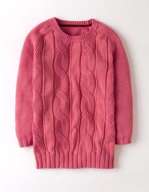 Cable Knit Jumper WK929 Jumpers at Boden