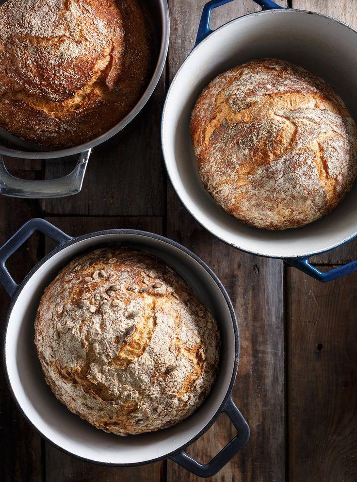Recette de Ricardo de pain aux grains entiers