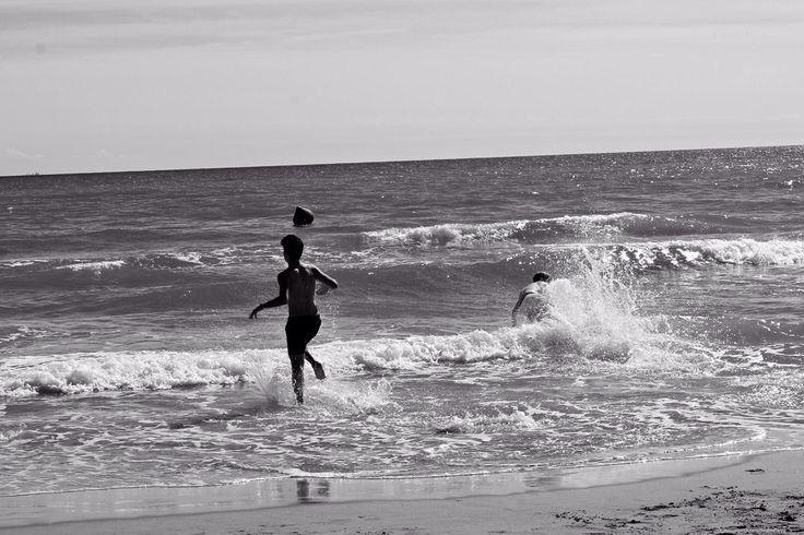 #beach #bw #blackandwhite