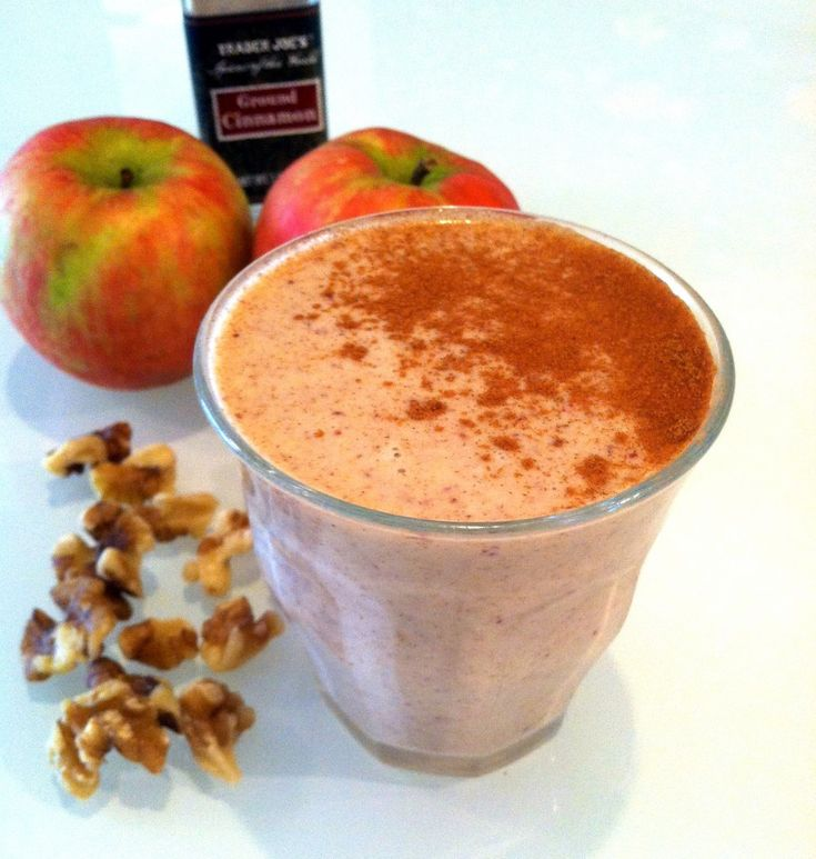 Apple Pie Smoothie - Hummusapien