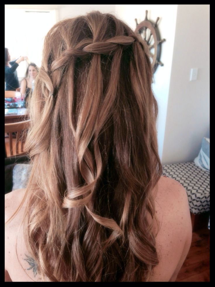 Bridesmaid hair. Such a great day!