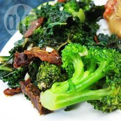 Broccoli Kale Stir Fry