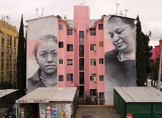 Latest #mural by @guidovanhelten in #ecatepec #Mexico in collaboration with The Instituto De La Mujer #guidovanhelten #TheMuralCo