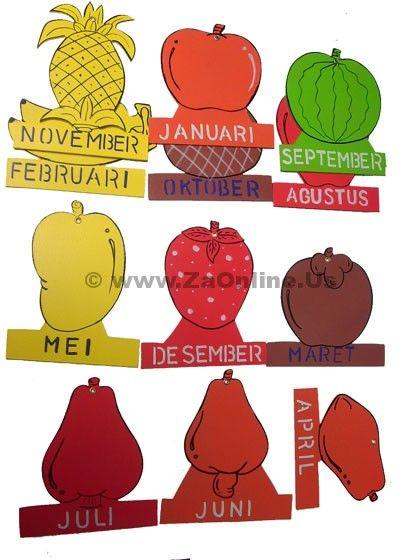 Jual Mainan Edukatif Buah Bulan | Order 085643605261