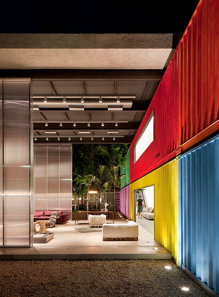16 best DECAMERON SHOW ROOM images on Pinterest Shipping - best of blueprint container house