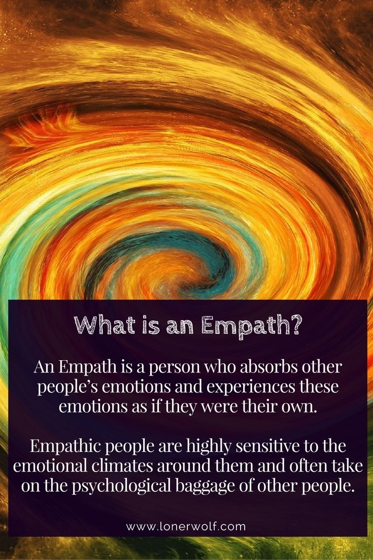 So much baggage you're carrying might not be yours. Take the free Empath test to find out if you're one ...