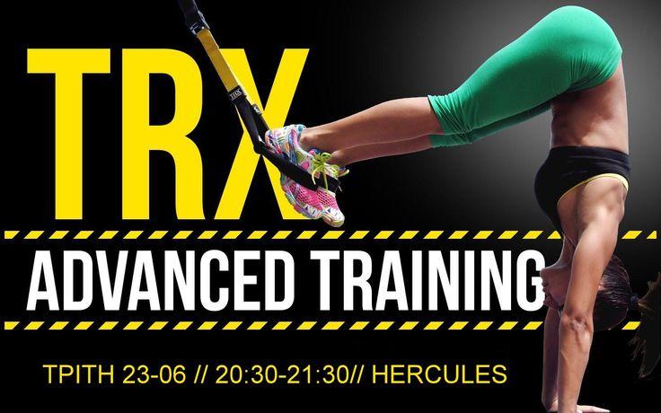 """Κάτι νέο σας περιμένει στο Hercules ή με άλλα λόγια, """"Make your body your machine""""! Το TRX περνάει σε άλλο επίπεδο. Μόνο γι αυτή την ΤΡΙΤΗ 23-06 και ώρα 20:30-21:30 ΤRX για προχωρημένους!! Για πληροφορίες και κρατήσεις απευθυνθείτε στην γραμματεία. Hercules Athletic & Fitness Center   22710 41990 www.herculesofchios.com"""