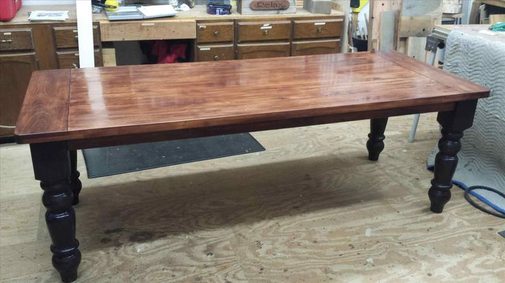 New knotty pine dining table at xx14.info