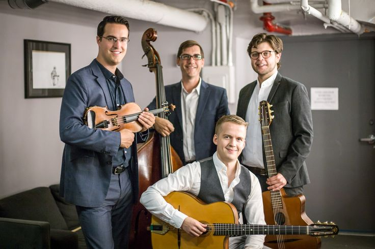 Named after a Django Reinhardt tune, the Rhythm Future Quartet performs fiery arrangements of Gypsy jazz standards and original compositions. The quartet will perform at 7 p.m. Sunday, Nov. 12, atVillage Homes Community Center,2661 Portage Bay Ave. East in Davis. Tickets for the show,...  http://www.davisenterprise.com/arts/hear-an-evening-of-gypsy-jazz-with-rhythm-future-quartet/  #davisenterprise #Arts, #Music