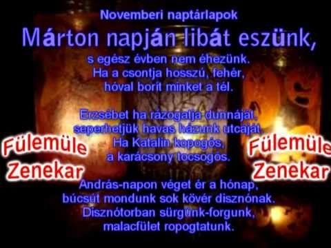 ▶ Márton Napi dal - Fülemüle Zenekar - YouTube