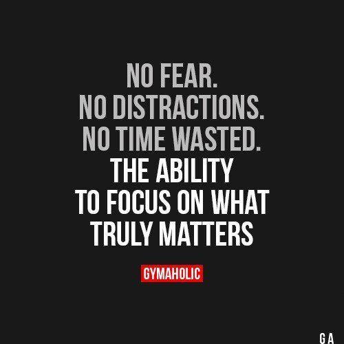 No Fear. No Distractions. No Time Wasted.
