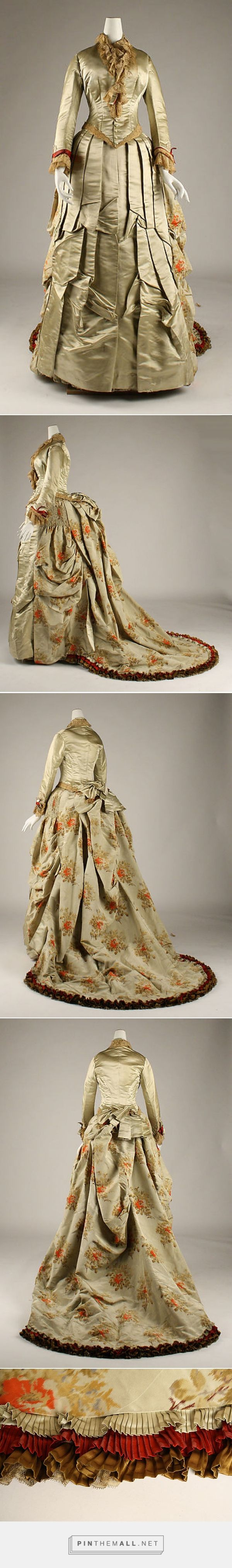 Dress by House of Worth 1875-76 French | The Metropolitan Museum of Art