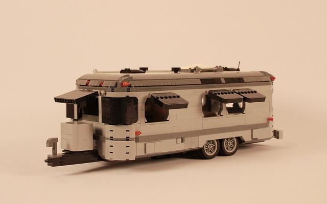 LEGO Airstream Trailer by ZeeMasterBrick, via Flickr