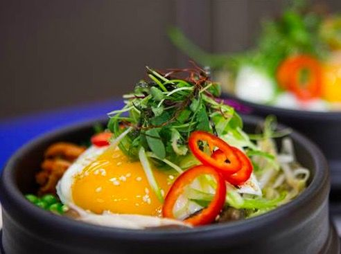 Zesty South Korean Beef and Vegetable Bibimbap - Recipes, Healthy, Main Dish, Quick, Easy