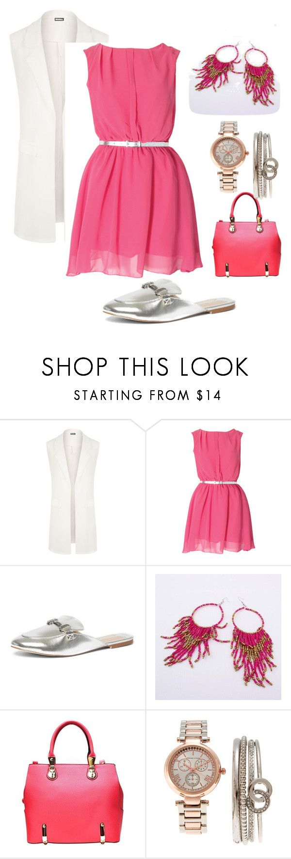 """""""Summer Teacher under $50 #2"""" by lizzette-reyes-lafontaine on Polyvore featuring WearAll, Dorothy Perkins and Adrienne Vittadini"""