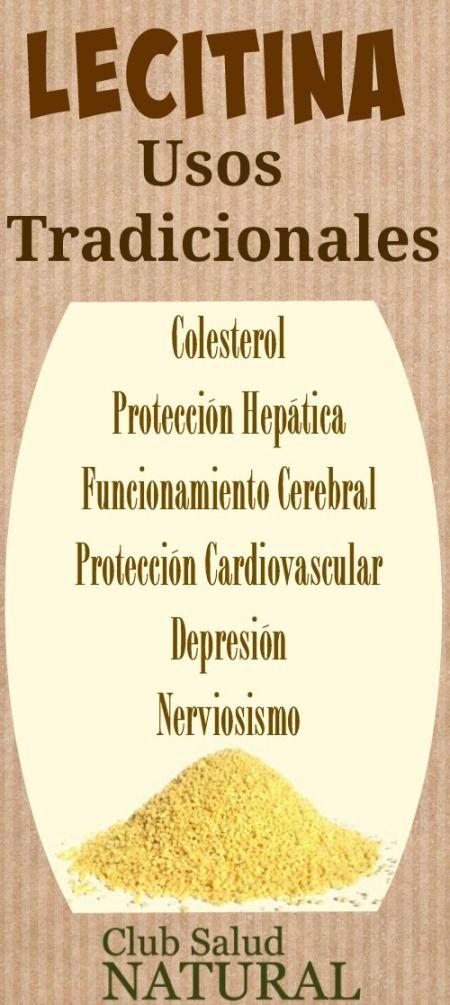 ¿Qué es la Lecitina de Soja? - Club Salud Natural  La lecitina de soja es una clase de lípido o grasa, necesaria para el buen funcionamiento de todas las células del organismo.