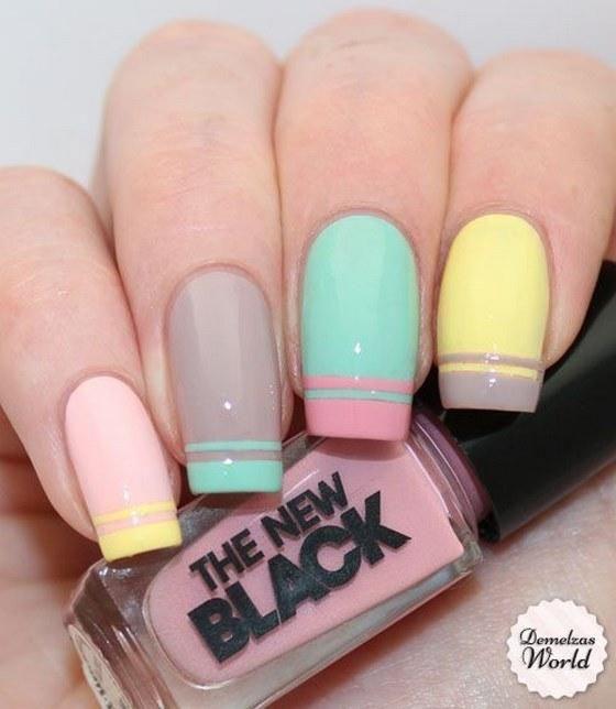 Distintas formas de pintar uñas para que queden hermosas