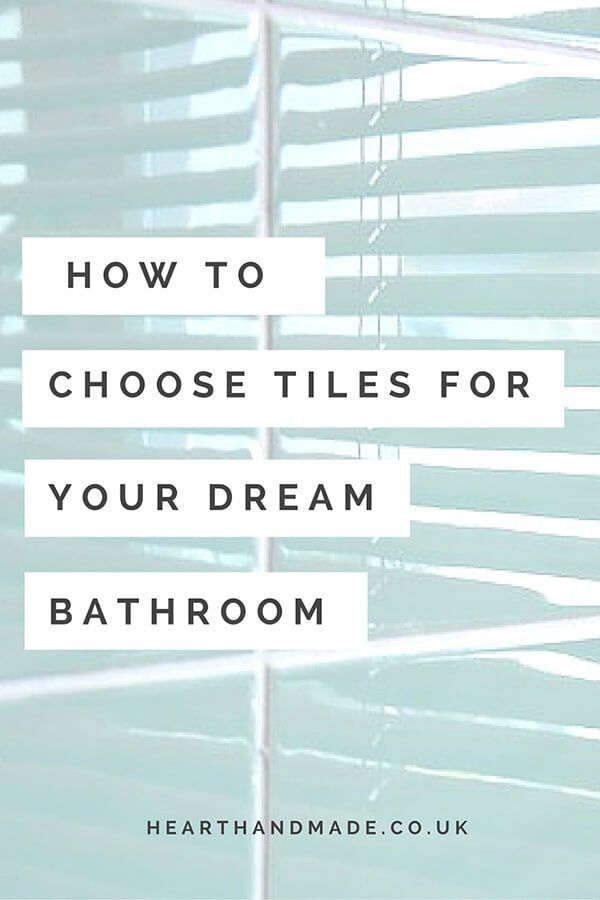 How To Choose Tiles For Your Dream Bathroom   Home Improvement Tips To Help  You Choose