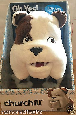 Official churchill car #insurance - churchill dog talking #plush in box! #rare!,  View more on the LINK: 	http://www.zeppy.io/product/gb/2/142123963055/