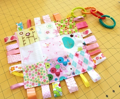 Baby tag toy at Sew Much 2 Luv sewing-to-do-list