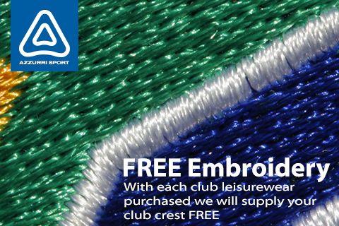 Azzurri Sport Embroidery
