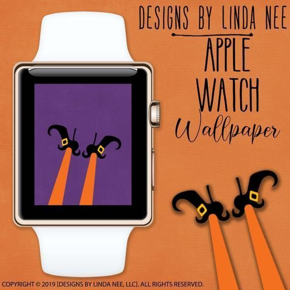 Apple Watch Wallpaper Apple Watch Face Witches Legs Wallpaper Halloween Wallpapers For Apple Watch Face Witch Legs Watch Wearables Awf4 In 2020 See