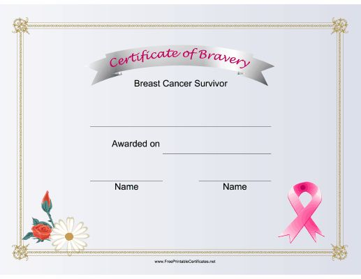 The 16 best awards images on pinterest printable for Bravery certificate template