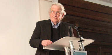 Edward W Said London Lecture 2013 in the Mosaic Room: Short Video. Professor Noam Chomsky with introduction by Edward Said's widow Mariam C Said. 18.03.13