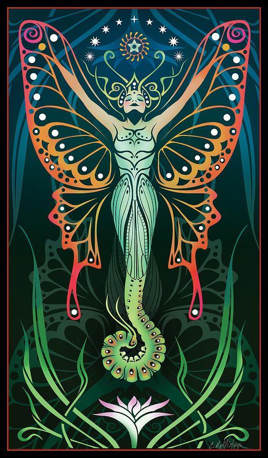 Metamorphosis Digital Art  - Metamorphosis Fine Art Print