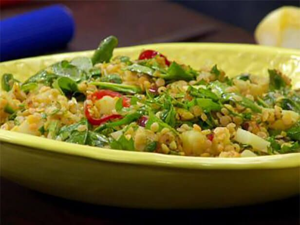 Salada de Lentilha Vermelha com Curry  - Food Network